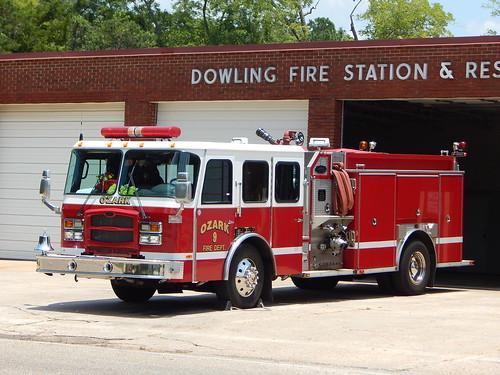 Ozark Fire Dept Engine 9 E-One
