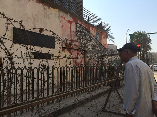 Demolishing Mohamed Mahmoud graffiti walls