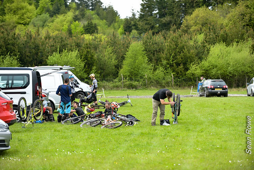 Gravity Enduro World Cup, Ireland - Paddock