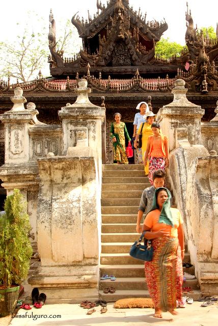 Shwenandaw Monastery Mandalay Myanmar