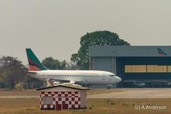 Boeing 737-200 9J-JCN ZambianAirways 20150612 Lusaka