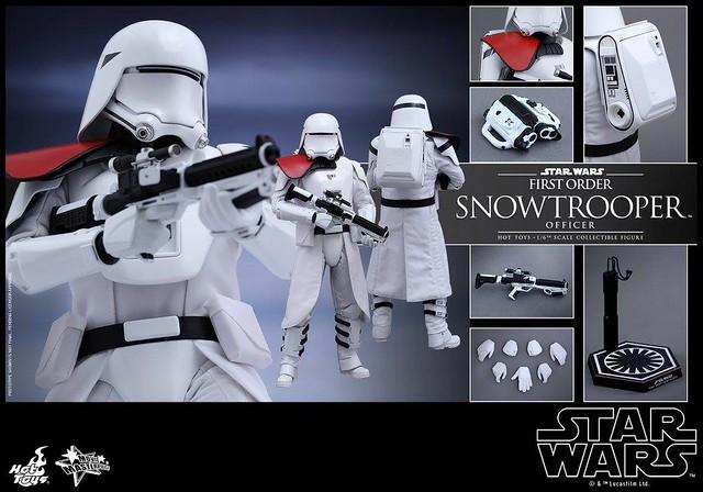 Star Wars 7 - Le réveil de la Force : Le Snowtrooper chez Hot Toys