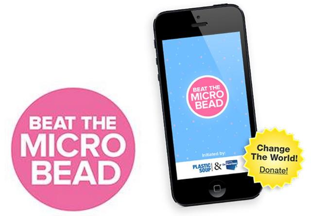 「打擊塑膠微粒」APP。照片來源:Beat the Micro Bead