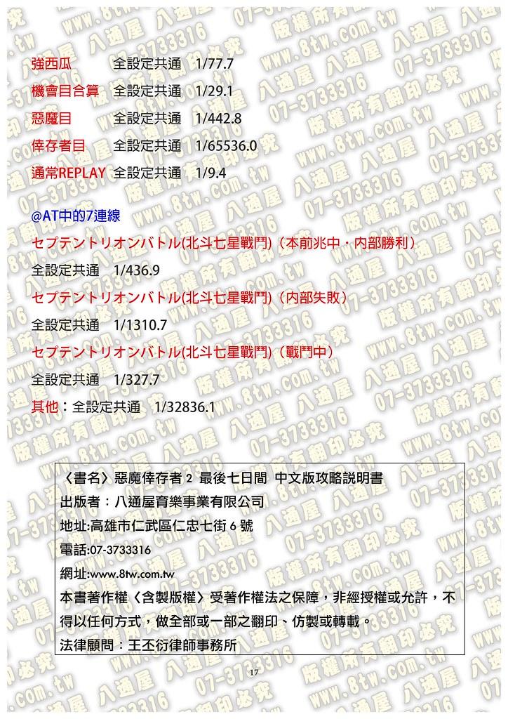 S0266惡魔倖存者2 最後七日間 中文版攻略_頁面_18