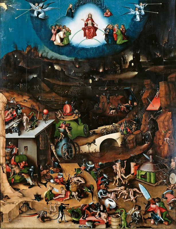 Lucas Cranach the Elder - The Last Judgement [c.1524]