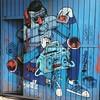 #streetart #graffiti #df #azul #justcolors