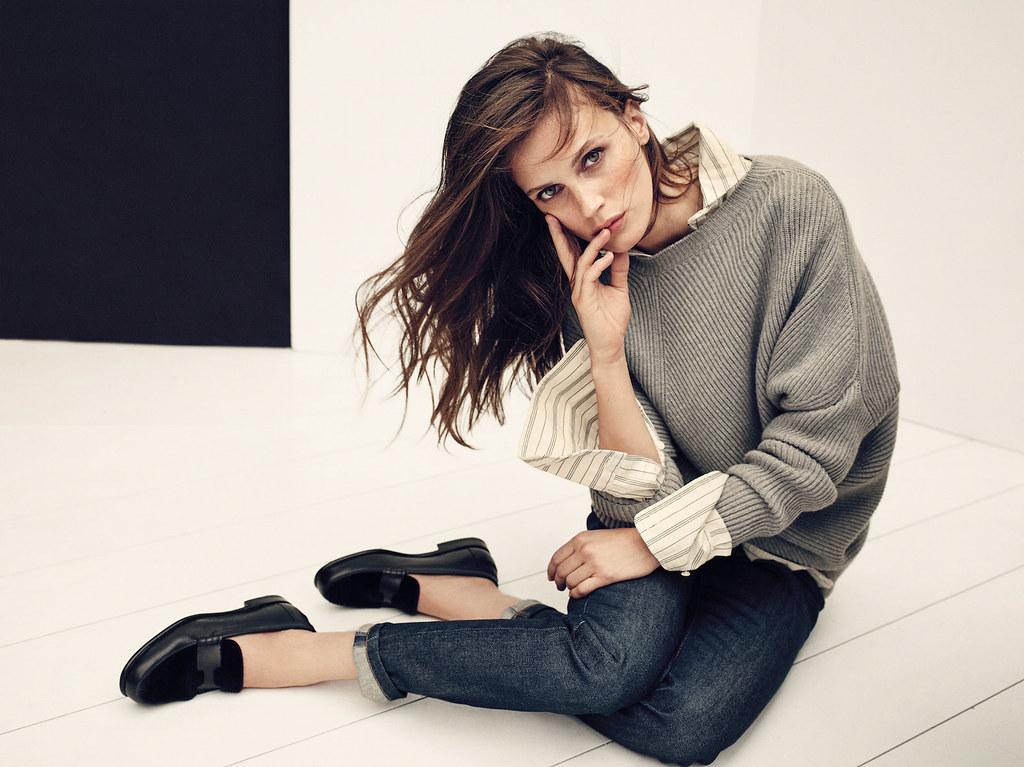 Марина Вакт — Фотосессия для «Elle» FR 2015 – 5