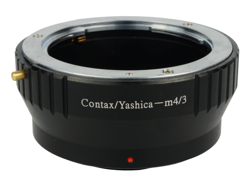 cy-m4/3 lens mount adapter contax yashica olympus panasonic micro four third