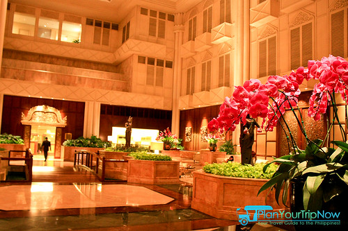 Shangri-La Bangkok Lobby