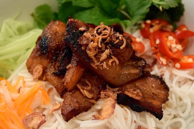 Pork Bun Noodles at KIN, Clerkenwell | www.rachelphipps.com @rachelphipps