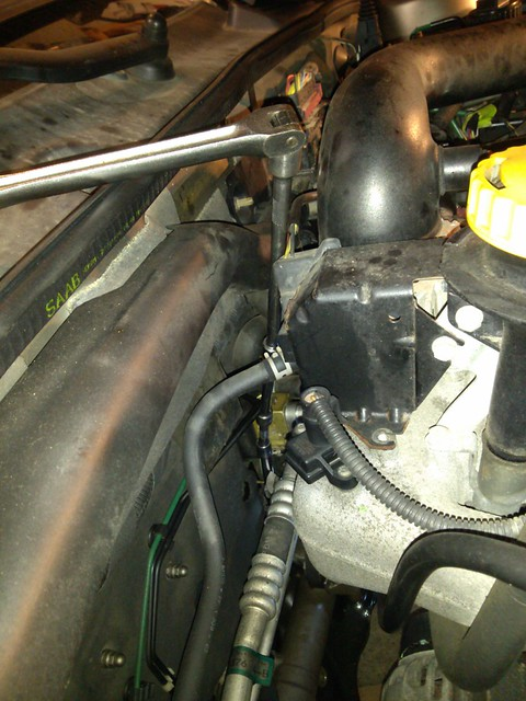 Removing Rear Motor Mount