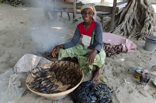 ashanti ghana fish woman africa westafrica bosumtwi botsomtwe food cooking
