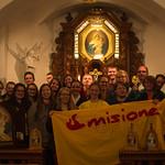 Gruppenbild misioneros im Schönstattheiligtum Dietershausen