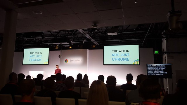 Chrome Dev Summit, the web is for everyone
