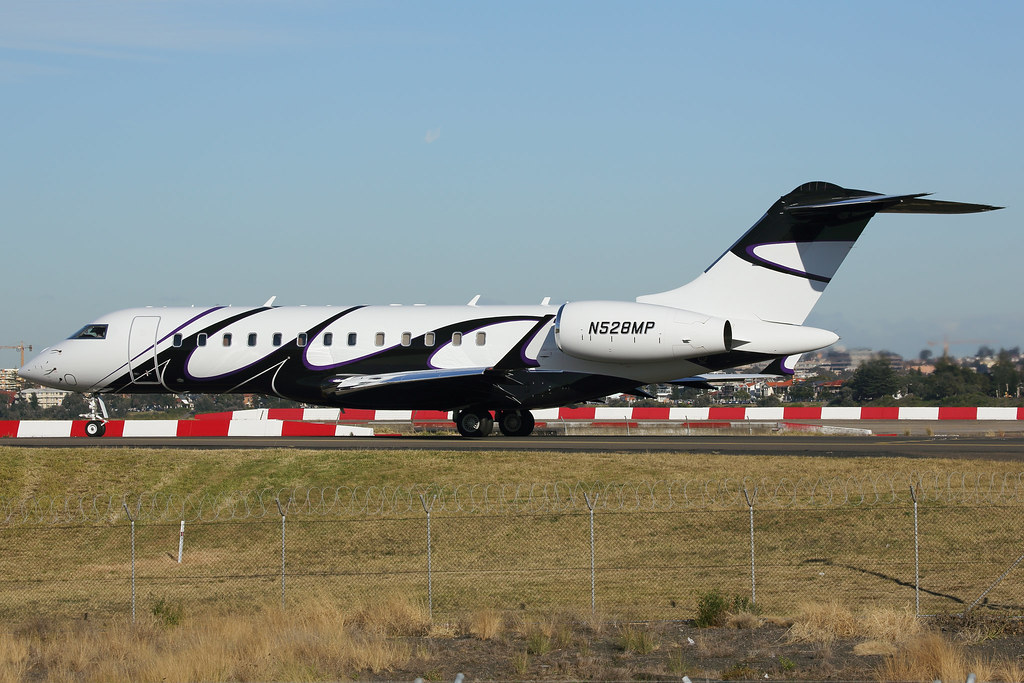 N528MP - GLEX - Kyrgyz International Airlines