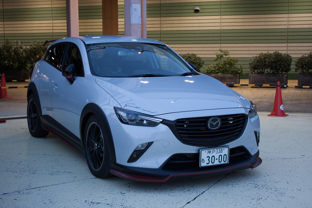 modified cx-3 action from japan!