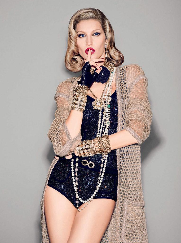 Жизель Бюндхен — Фотосессия для «Vogue» BR 2015 – 7