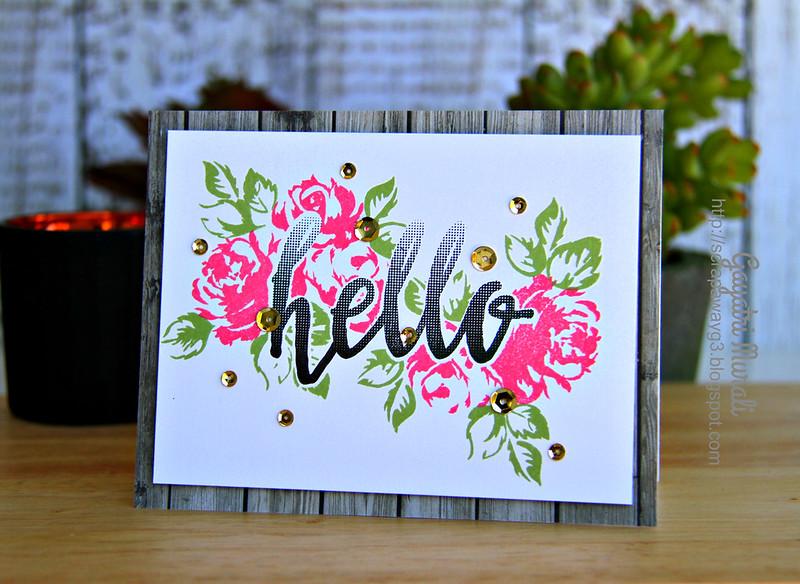 Hello card #3