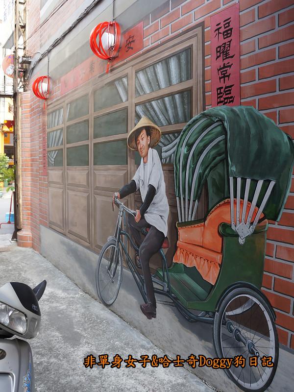 台中沙鹿美仁里彩繪巷27