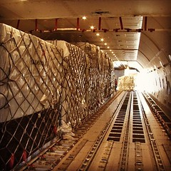 A look inside the main deck of the Boeing 747-8 freighter during loading! From our brand new 747-8 Cockpit Film.  WATCH this video at JUSTPLANES.COM  #justplanes #volgadneprgroup #volgadnepr #airbridgecargo #boeing #boeing747 #freighter #cargo #747freight
