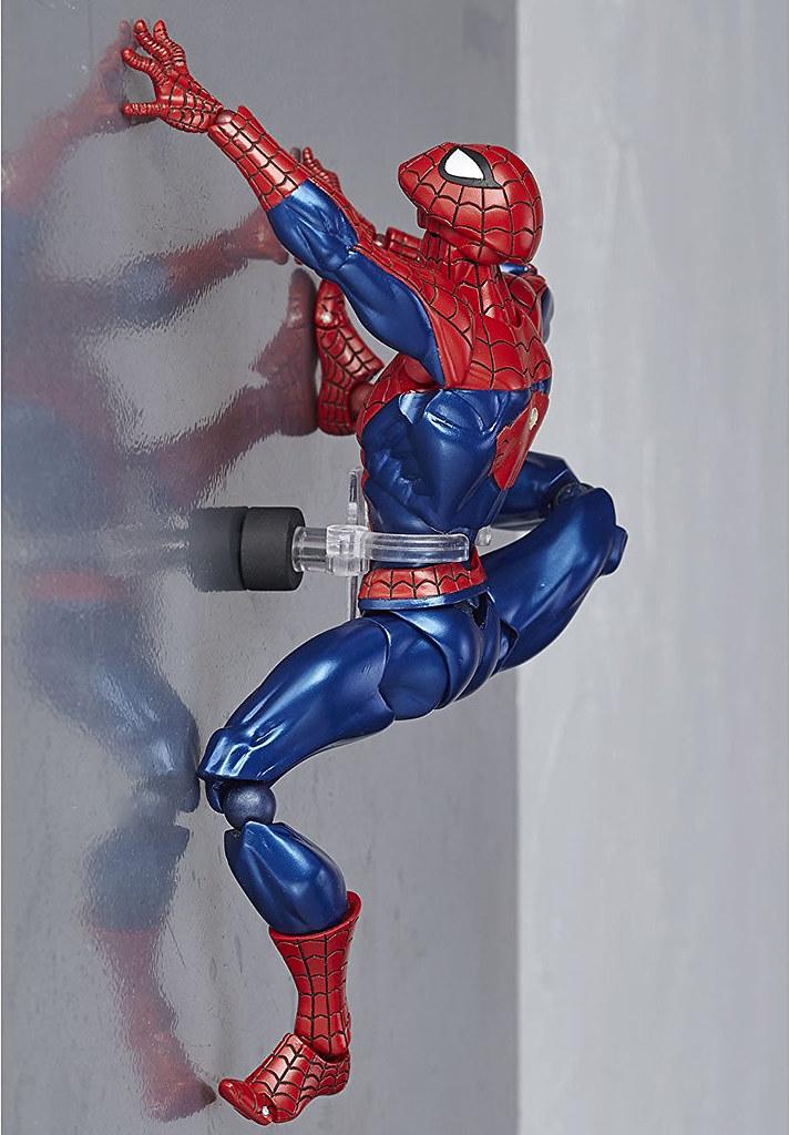 """【官圖更新!】海洋堂 × 美漫超級英雄嶄新系列""""AMECOMI YAMAGUCHI"""" 第二彈:蜘蛛人 スパイダーマン"""