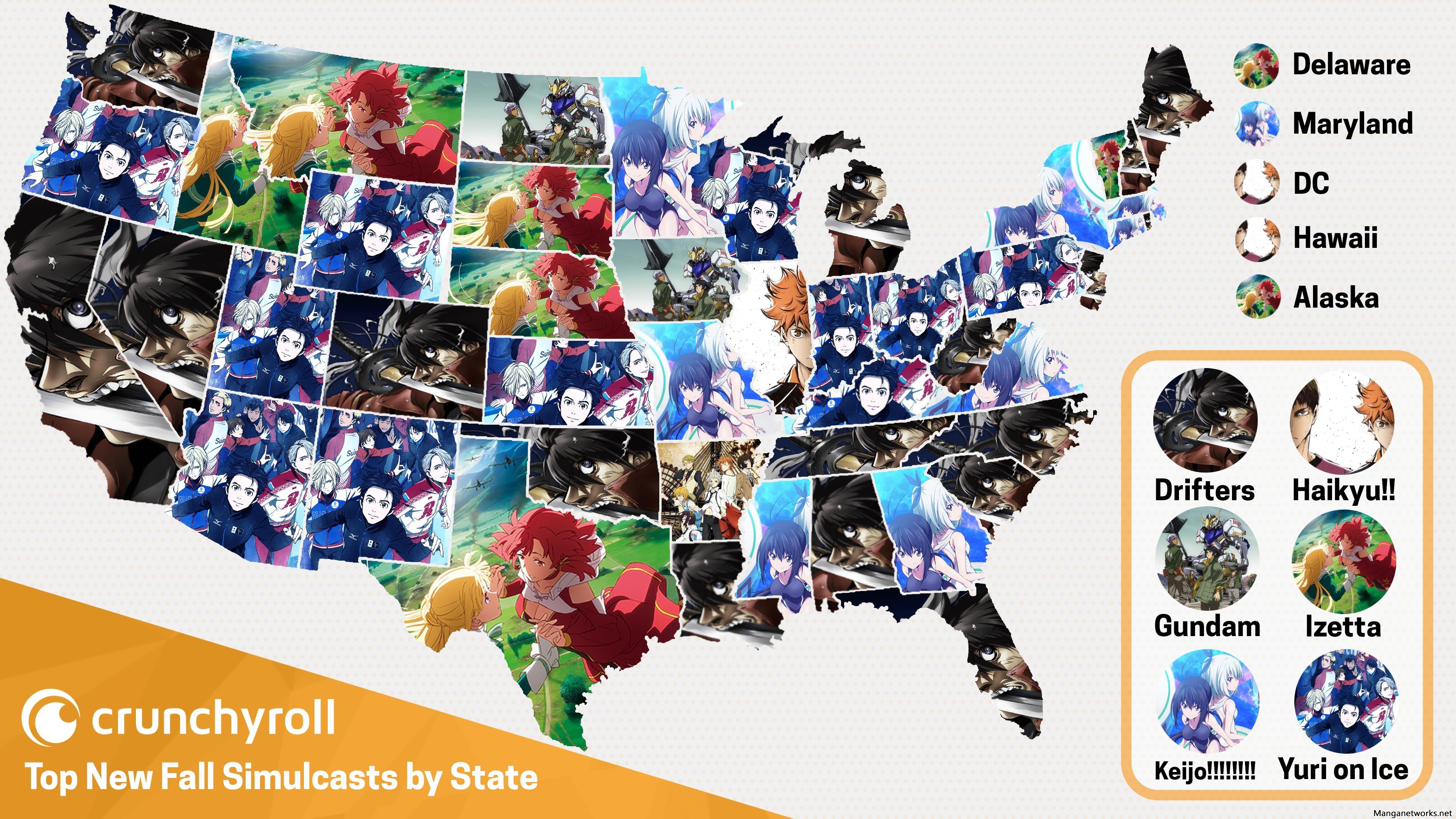 30522580042 35f8d32948 o Anime mùa thu được ưa chuộng nhất ở từng bang tại Mĩ theo Crunchyroll