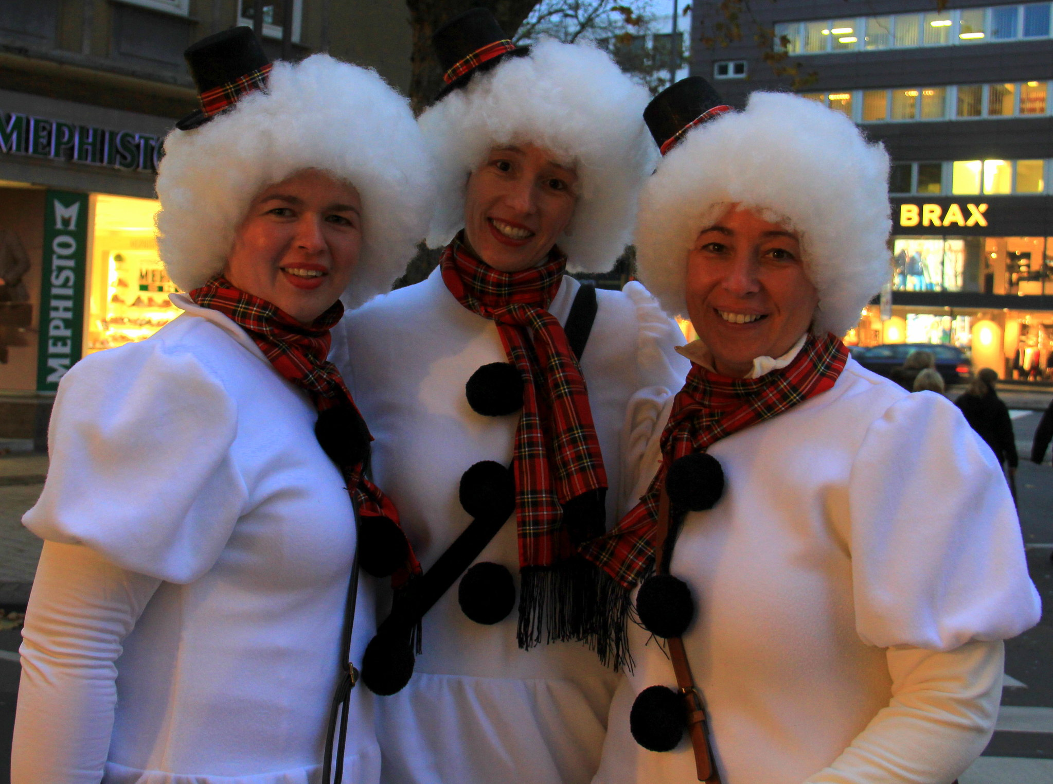 Beautiful costumes at cologne carnival