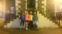 A celebratory finish photo at Moot Hall. Done in 23Hrs 18Mins! Image