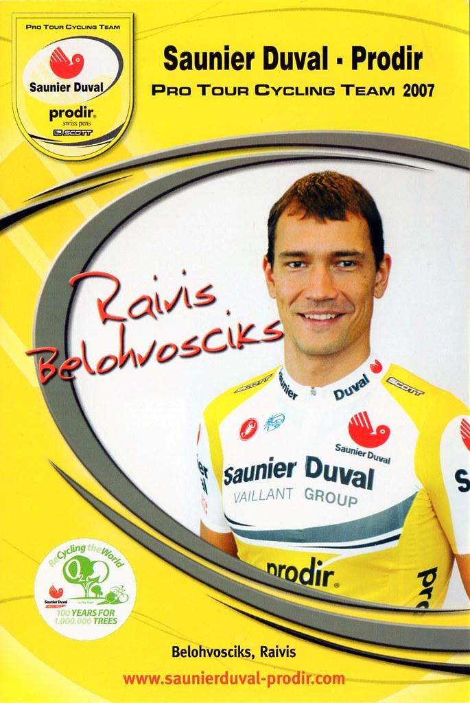 Raivis Belohvosciks - Saunier Duval Prodir 2007