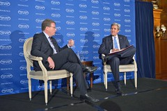 U.S. Secretary of State John Kerry participates in The Brooking Institution's 2016 Saban Forum at the Willard Hotel in Washington, D.C. on December 4, 2016. [State Department Photo/Public Domain]