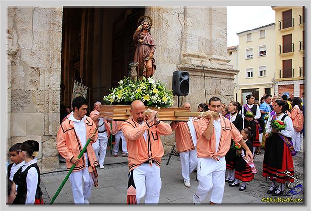 Briviesca en Fiestas 2.015 Procesión del Rosario y canto popular de la Salve (3)