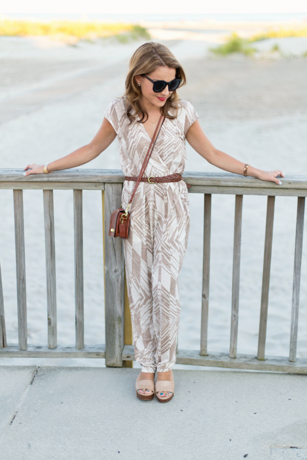 Anthropologie Jersey Jumpsuit