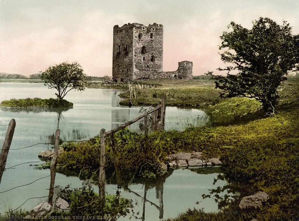 Threave Castle, Castle Douglas, Scotland
