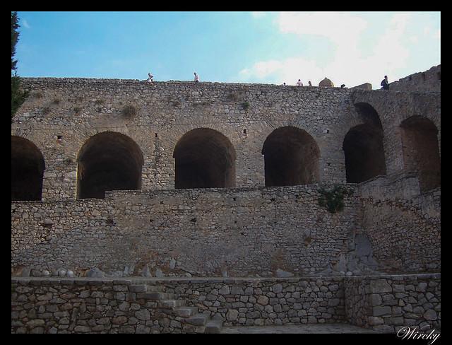 Grecia Atenas Corinto Epidauro Micenas Nauplia - Prisión del Castillo Palamidi