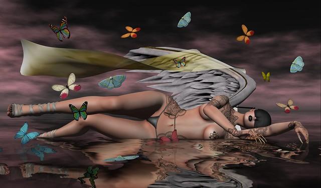 The Butterflies in an Angel's Dream_024