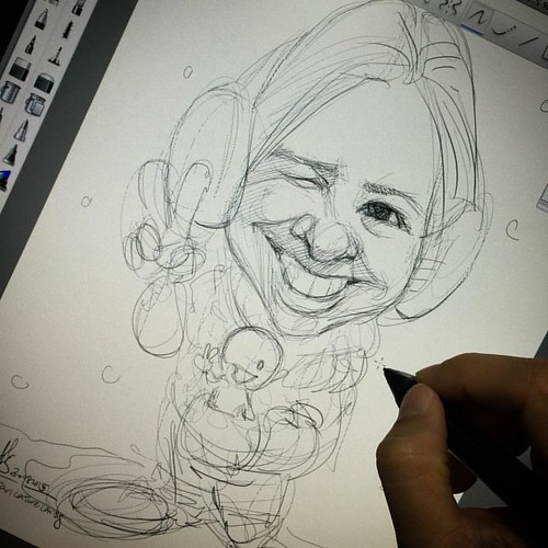 Sketch 3 for client......