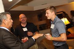 Sandmire and Mueller Scholarship reception