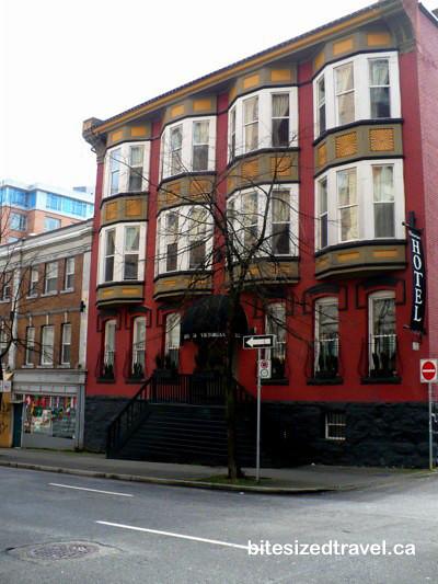 Victorian Hotel Vancouver Canada