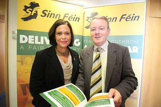 Mary Lou McDonald & Brian Stanley