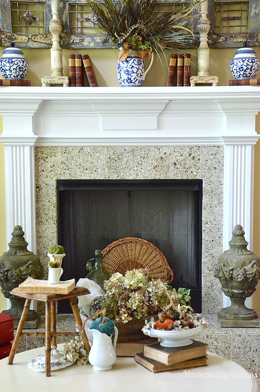 2015 Fall Mantel - Housepitality Designs