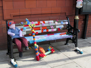 Westhoughton Yarn Bombing Festival 2015 - Displays