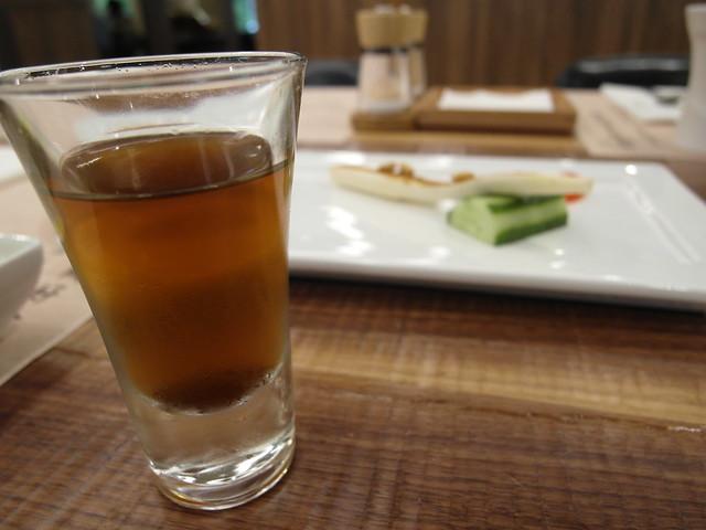 御品蟲草酵素飲,不太有一般酵素的酸味,很好入口@棉花田有機餐廳
