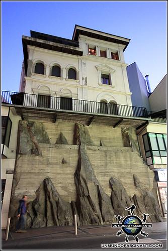 Calles del centro histórico de Andorra La Vella, Andorra