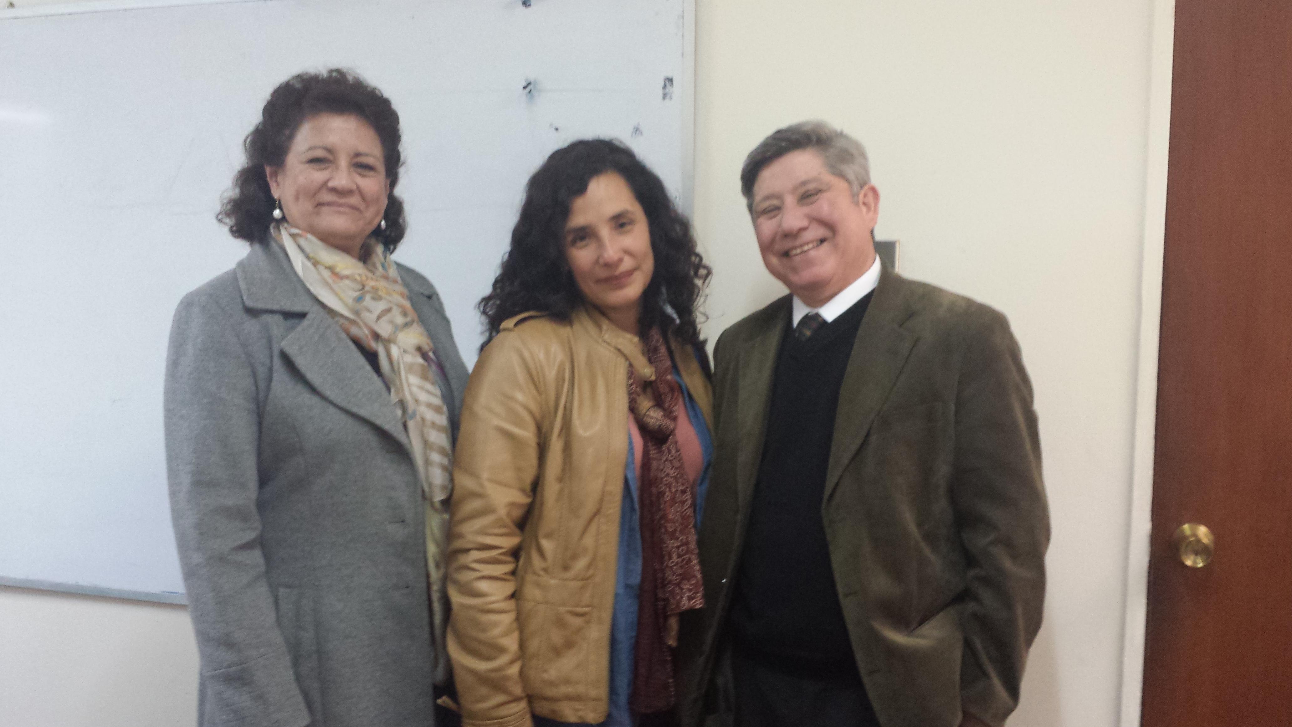 Claudia Andrade del del Laboratorio de Neurociencia Cognitiva UC