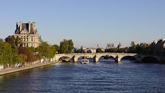 La Seine, Pont Royale et l'École du Louvre