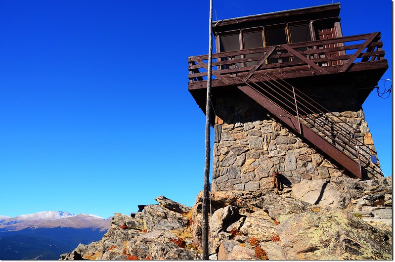 Squaw Mountain Fire Lookout Tower 1