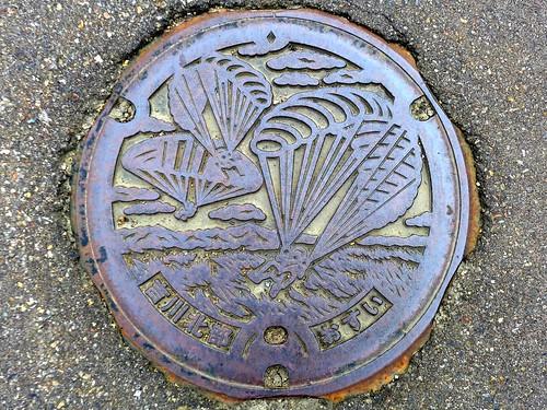 Yoshikawa Nigata, manhole cover 2 (新潟県吉川町のマンホール2)