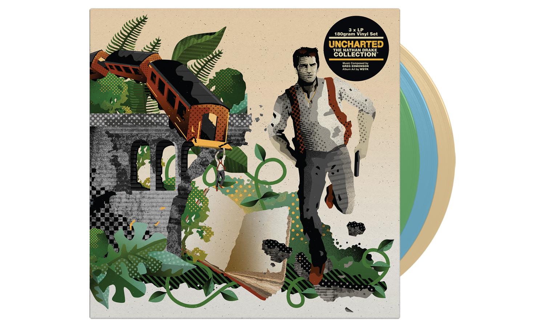 Uncharted-vinyl soundtrack