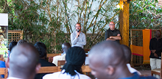 Bspace and IBA networking hold event at the Lawns, Kampala.
