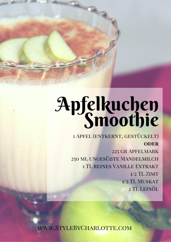 Apfelkuchen Smoothie